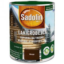 SADOLIN Varnish Resistant to Harsh Weather Conditions