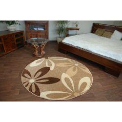 Carpet CARAMEL circle COCOA nut