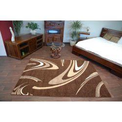 Carpet CARAMEL COFFEE brown