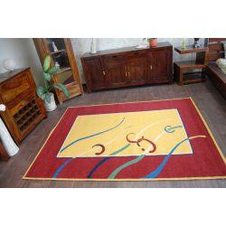 Carpet WEL-HIT KIEŁKI gold