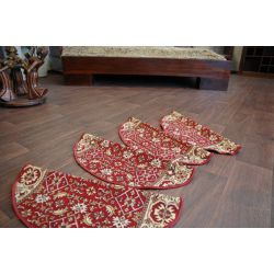 Stair overlay BIDJAR red