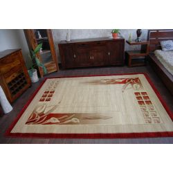 Carpet HEAT-SET DEKOR 010 red