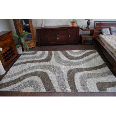 Carpet SHAGGY ALDO 531 beige/brown