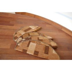 Stair overlay AMALIA brown