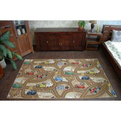 Carpet DISNEY CARS beige