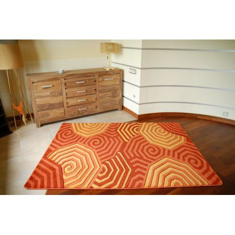 Carpet RUBIKON 8581 orange