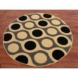Carpet BLACKY design 69 circle