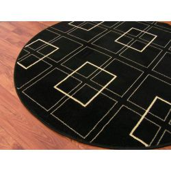 Carpet BLACKY design 61 circle