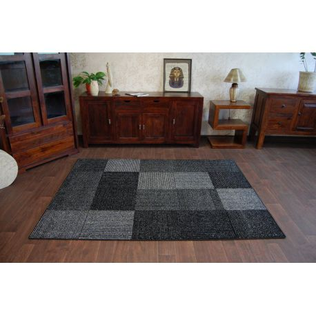 Carpet SILVER ETNO black