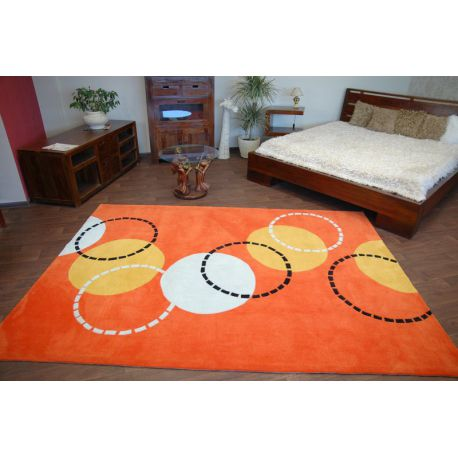 Carpet acrylic PIŁKI orange