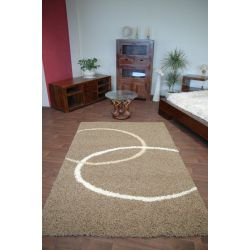 Carpet COZZY ATTU dark beige