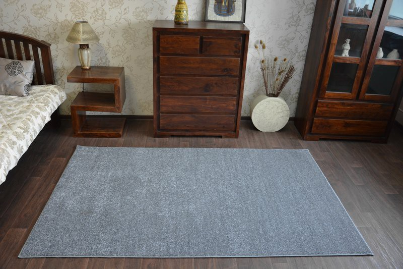 Cheap Amp Quality Carpets Utopia Grey Bedroom Width 3m 4m 5m