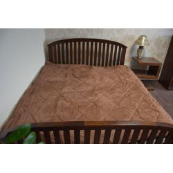 Overlay ALKANTARA brown