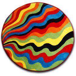 Carpet PAINT circle - 1561 blue