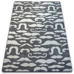 Carpet SKETCH - FA67 grey/white - Moustache