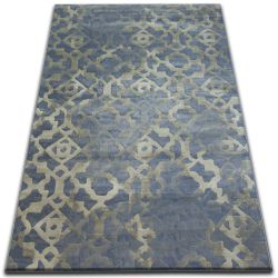 Carpet DROP JASMINE 454 L.blue/Fog
