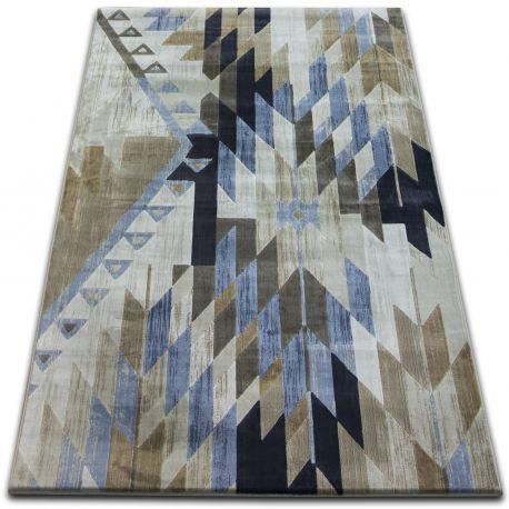 Carpet DROP JASMINE 758 L.blue/Smoke