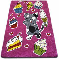 Carpet KIDS Cookie pink C415