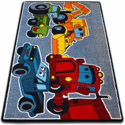 Carpet KIDS Cars grey C418