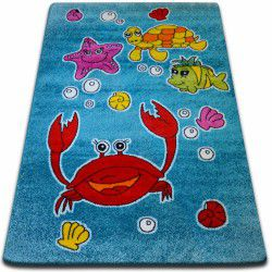 Carpet KIDS Ocean blue C424