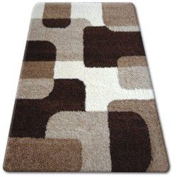 Carpet SHAGGY ZENA 2526 light beige / dark beige