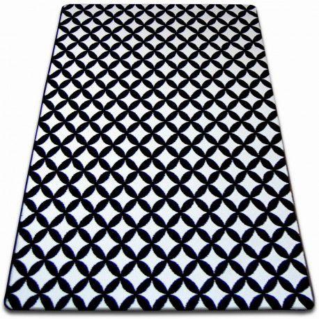 Carpet SKETCH - F757 white/black