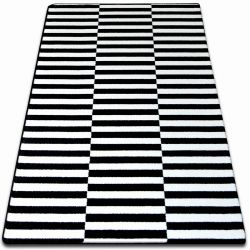 Carpet SKETCH - F132 white/black - strips