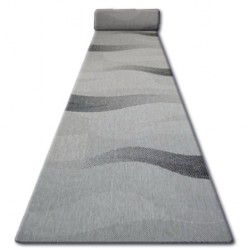 Runner SIZAL FLOORLUX design 20212 silver / black