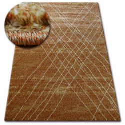 Carpet SHADOW 9367 rust / gold