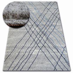 Carpet SHADOW 9367 grey / blue