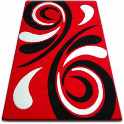 Carpet FOCUS -  8695 red WAVE