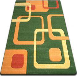 Carpet FOCUS -  F240 green SQUARES