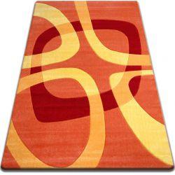 Carpet FOCUS -  F242 orange SQUARE