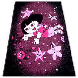Carpet PILLY 7818 - purple/black