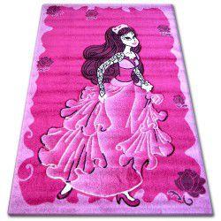 Carpet PILLY 6362 - fuchsia/cream
