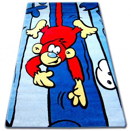 Carpet children HAPPY C176 blue
