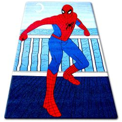 Carpet children HAPPY C098 blue Spiderman