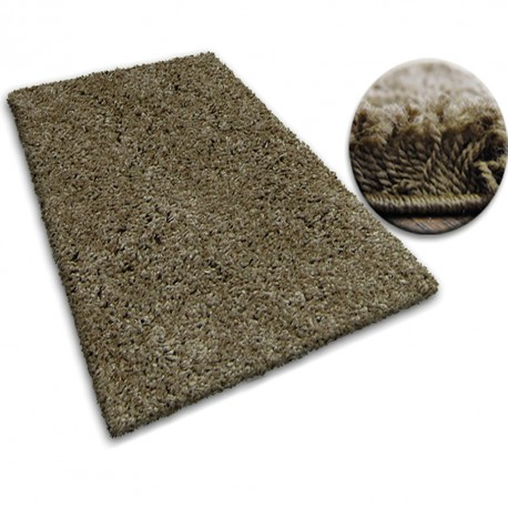 Carpet SHAGGY GALAXY 9000 light brown