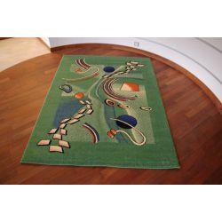 Carpet WELIRO AKEBIA green