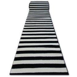 Runner SKETCH F758 cream/black - Striped