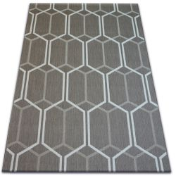 Carpet FLAT 48609/086 - honeycomb