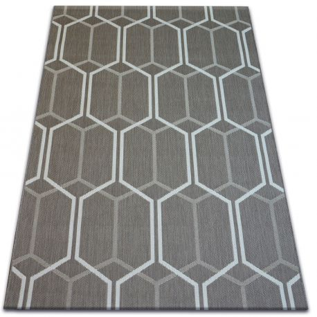 Carpet FLAT 48609/086 - honeycomb