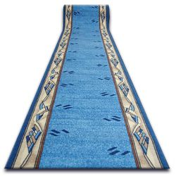 Runner anti-slip MODERN blue