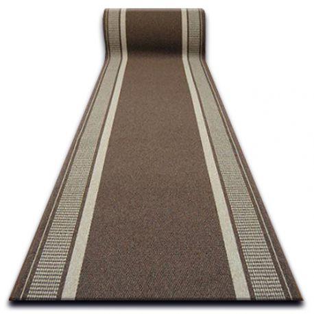 thick Runner anti-slip TRENDY brown