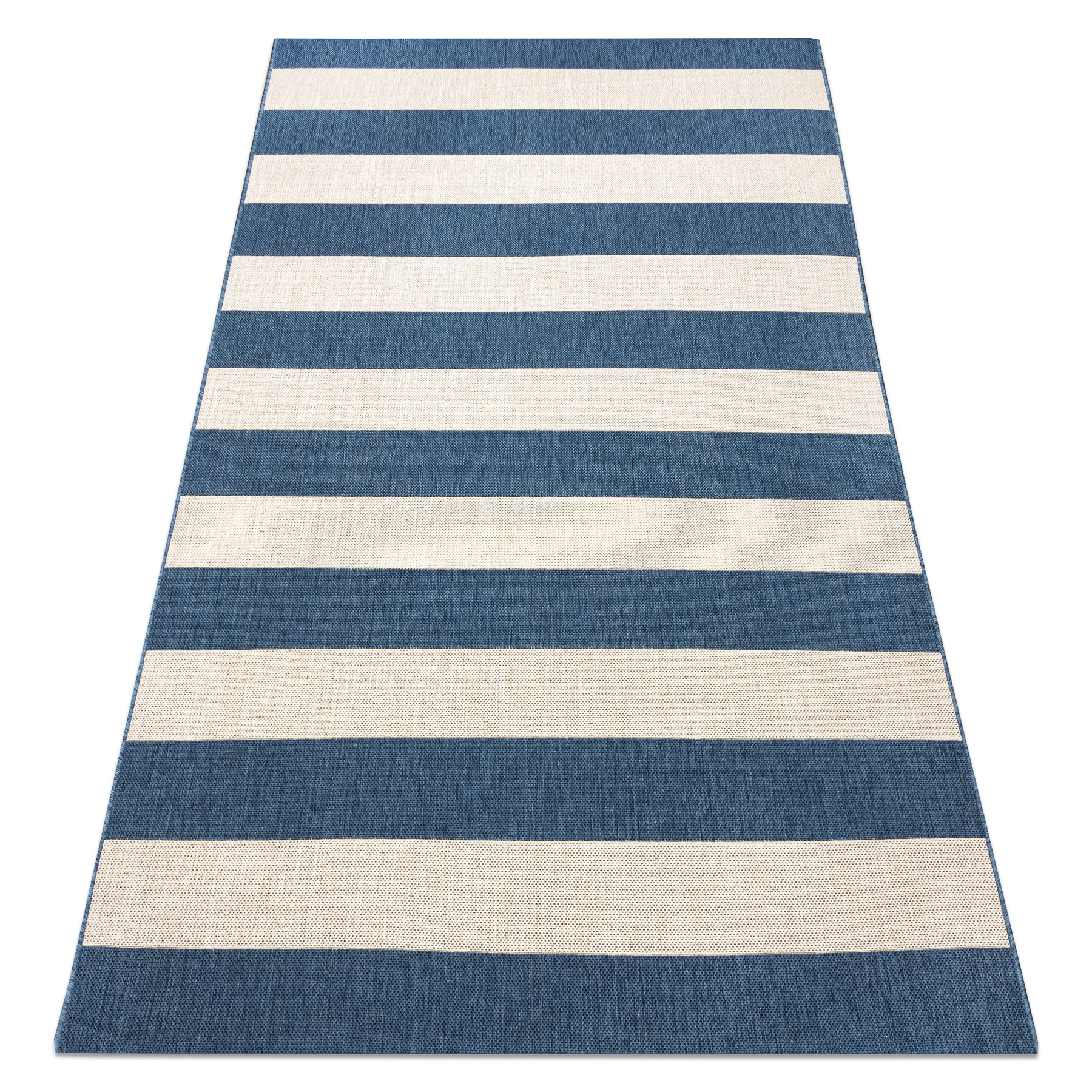 Modern Sisal Rug Grey Lines Flat Stripes Blue Beige Flat Weave Easy Clean Ebay