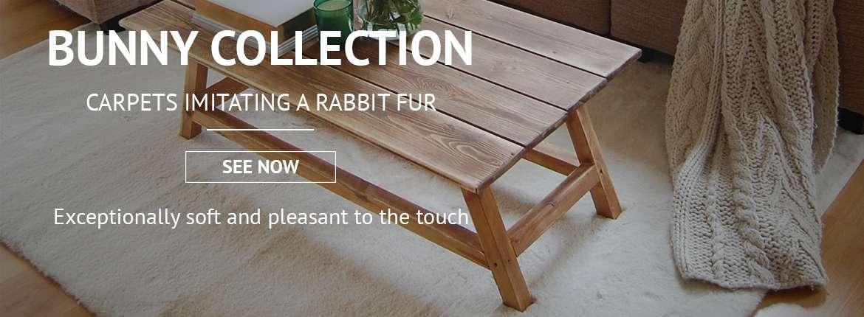 BUNNY rugs, rabbit, bellarosa, rabbit fur, soft