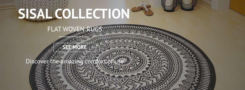Flat woven rugs, Sisal rugs, Outdoor